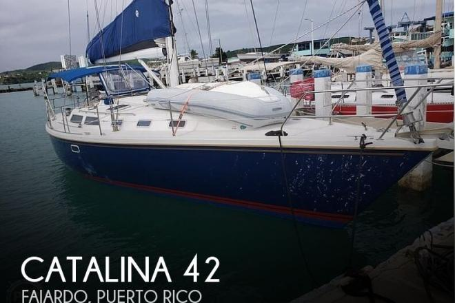 1992 Catalina 42 Wing Keel - For Sale at Puerto Real, PR 740 - ID 186360