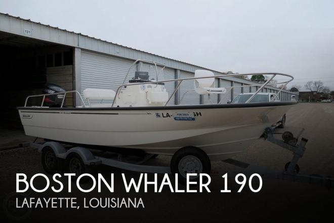 2015 Boston Whaler 190 Montauk - For Sale at Lafayette, LA 70508 - ID 185564