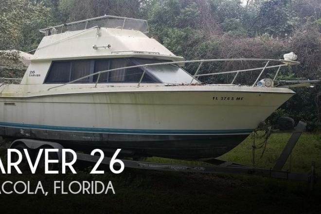 1983 Carver 26 Santa Cruz - For Sale at Pensacola, FL 32507 - ID 141854