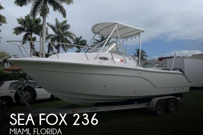 2008 Sea Fox 236 WA - For Sale at Miami, FL 33175 - ID 186343