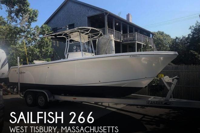 2004 Sailfish 266 CC - For Sale at Oak Bluffs, MA 2557 - ID 186595