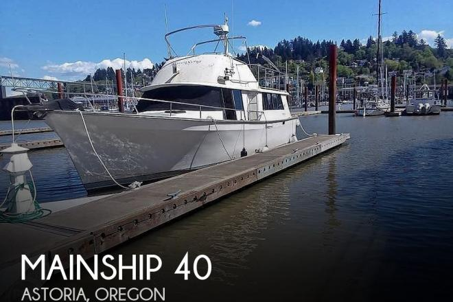1981 Mainship 40 - For Sale at Astoria, OR 97103 - ID 186646