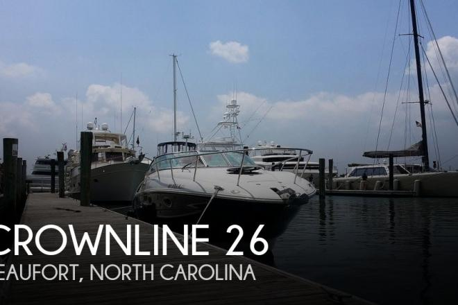 2012 Crownline 260 - For Sale at Atlantic Beach, NC 28512 - ID 186652