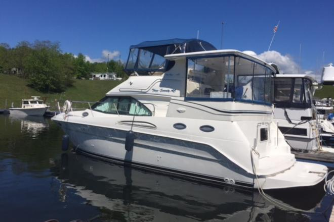2000 Sea Ray 370 Aft Cabin - For Sale at Plattsburgh, NY 12901 - ID 186693