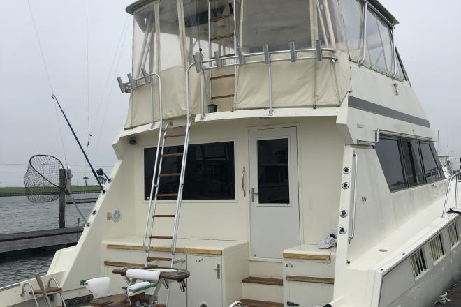 1988 Hatteras 65 SPORT FISHERMAN - For Sale at Hitchcock, TX 77563 - ID 186703