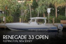 2019 Renegade 33 Open