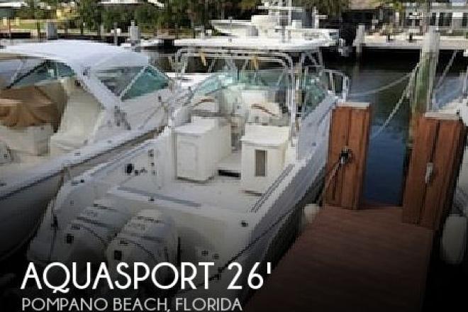 2001 Aquasport 275 Explorer - For Sale at Pompano Beach, FL 33060 - ID 187037