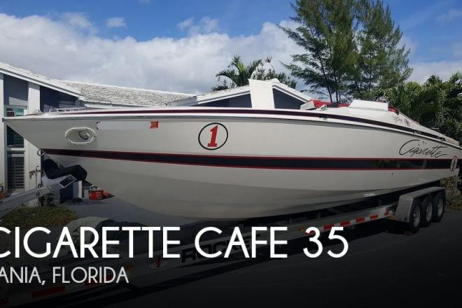 1986 Cigarette Cafe 35 - For Sale at Dania, FL 33004 - ID 186044