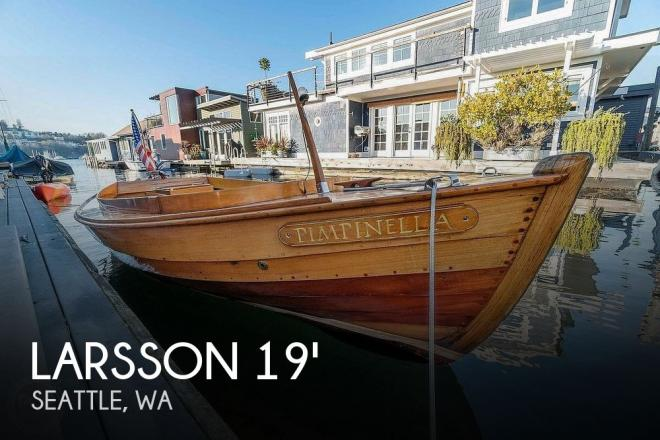 1961 Custom Built Swedish Canal - For Sale at Seattle, WA 98109 - ID 187051