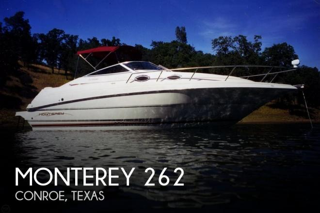 2000 Monterey 262 Cruiser - For Sale at Willis, TX 77318 - ID 144914