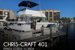 1973 Chris Craft 401 Commander