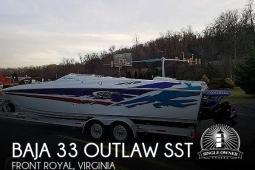 2003 Baja 33 Outlaw SST