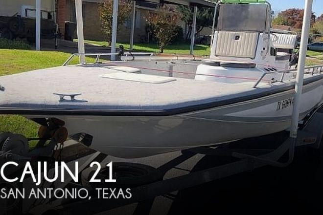 1992 Cajun 2100 Fishmaster - For Sale at San Antonio, TX 78201 - ID 187303