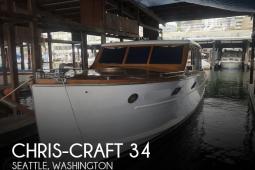 1941 Chris Craft Deluxe Enclosed Cruiser