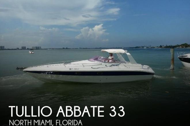 1986 Tullio Abbate 33 Elite - For Sale at Miami, FL 33181 - ID 78668