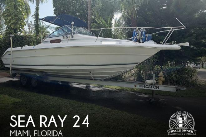 1990 Sea Ray Laguna 24 Flush Deck Cuddy - For Sale at Miami, FL 33186 - ID 186639