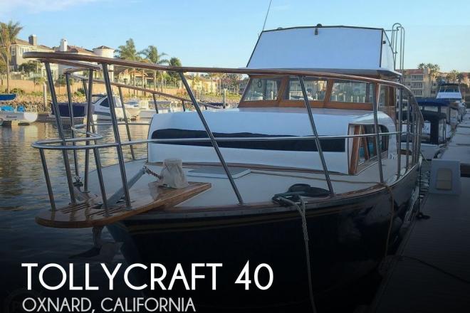 1960 Tollycraft 36 - For Sale at Oxnard, CA 93035 - ID 188407
