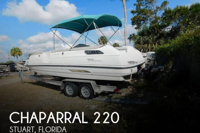 1995 Chaparral Sunesta 220 - For Sale at Stuart, FL 34997 - ID 188080