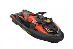 2020 Sea Doo RXT®-X® 300 IBR & Sound System Eclipse Black and Lava Red