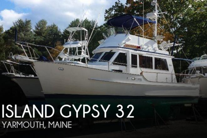 1994 Island Gypsy 32 Sedan Trawler - For Sale at Bailey Island, ME 4003 - ID 151882