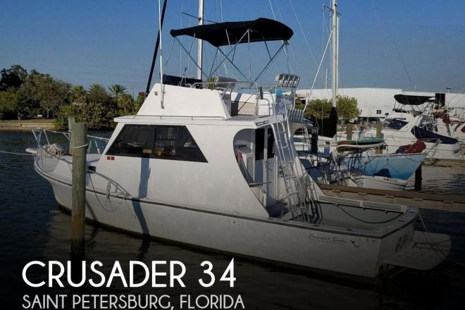 2005 Crusader 34 Sportfish - For Sale at Saint Petersburg, FL 33709 - ID 160268