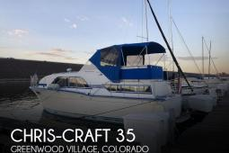 1973 Chris Craft 35 Double Cabin