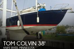 1964 Tom Colvin 38 Blue Water