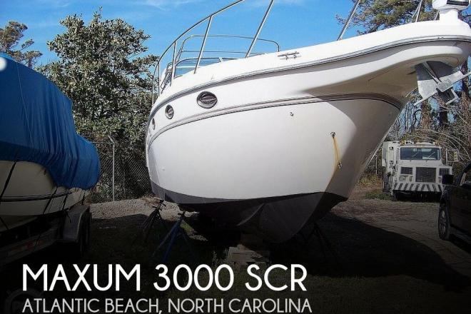 2000 Maxum 3000 SCR - For Sale at Atlantic Beach, NC 28512 - ID 187311