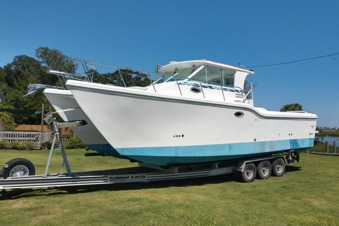 2001 Baha Cruisers King Cat 340 - For Sale at Murrells Inlet, SC 29576 - ID 185750