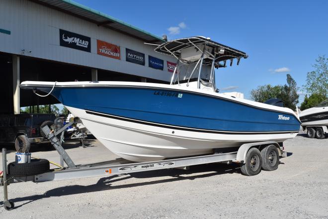2006 Triton 2486 - For Sale at Marrero, LA 70072 - ID 189406