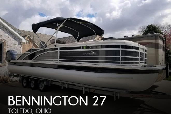 2017 Bennington 27 RSB X2 - For Sale at Toledo, OH 43611 - ID 189390