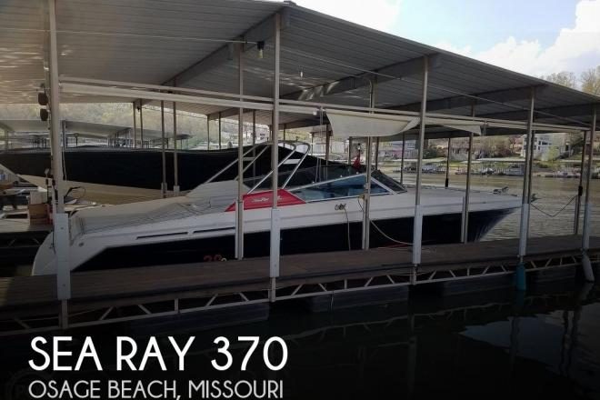 1990 Sea Ray 370 Sun Sport - For Sale at Osage Beach, MO 65065 - ID 187727