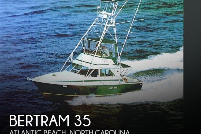 1973 Bertram 35 Convertible - For Sale at Atlantic Beach, NC 28512 - ID 31846