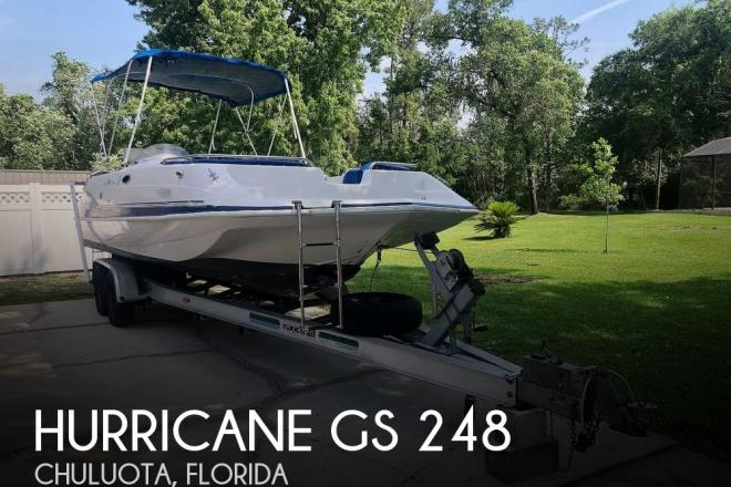 2002 Hurricane GS 248 - For Sale at Oviedo, FL 32766 - ID 189314