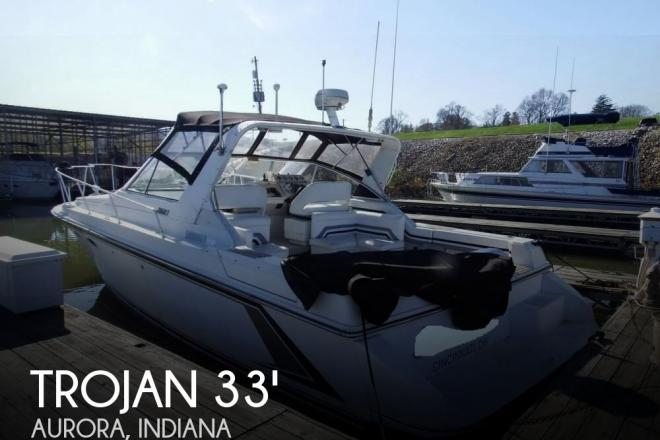 1990 Trojan 10 Meter Mid-Cabin - For Sale at Aurora, IN 47001 - ID 104930