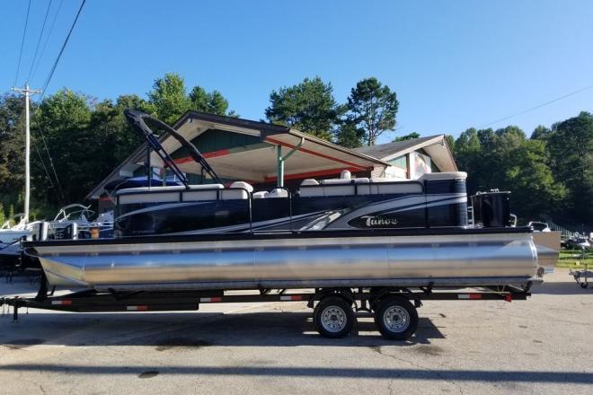 2019 Tahoe 2385 GT Extended Deck CRU Tritoon - For Sale at Blairsville, GA 30512 - ID 150225