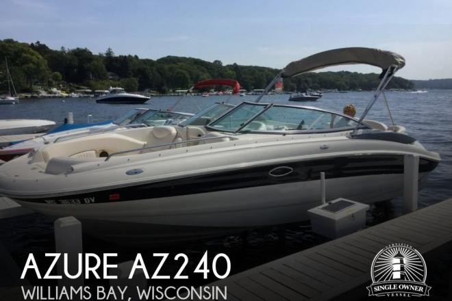 2005 Azure AZ240 - For Sale at Lake Geneva, WI 53147 - ID 139872