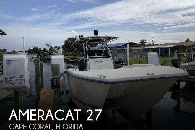 2015 Ameracat 27′ Gen II - For Sale at Cape Coral, FL 33914 - ID 189634