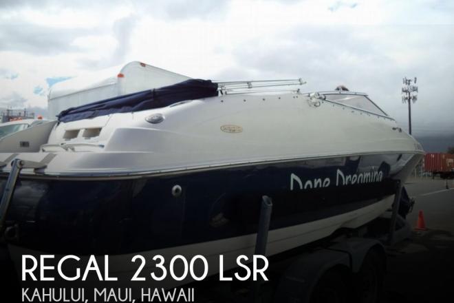 2001 Regal 2300 LSR - For Sale at Kahului, HI 96732 - ID 156606
