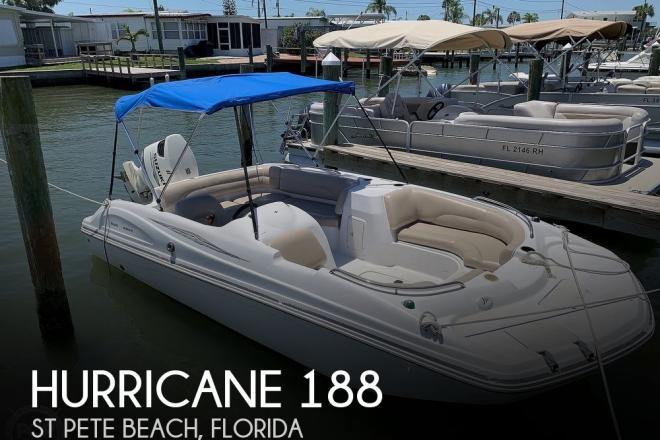 2013 Hurricane 188 Sun Deck Sport - For Sale at Saint Petersburg, FL 33706 - ID 156519