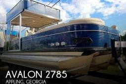 2018 Avalon Catalina Platinum 2785 ENTFS
