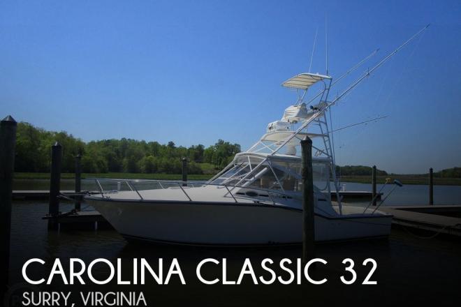 2005 Carolina Classic 32 - For Sale at Surry, VA 23883 - ID 188779