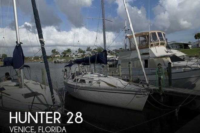 1991 Hunter 28 - For Sale at Venice, FL 34284 - ID 184577