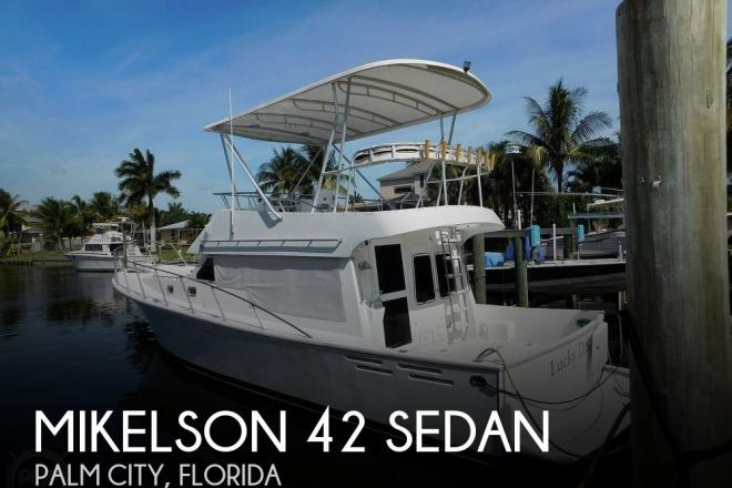 1988 Mikelson 42 Sedan - For Sale at Palm City, FL 34990 - ID 190722