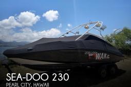2007 Sea Doo 230 Wake
