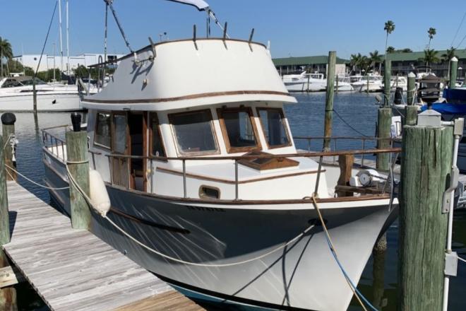1980 Albin 34 Flared Bow Trawler - For Sale at Sarasota, FL 34231 - ID 188213