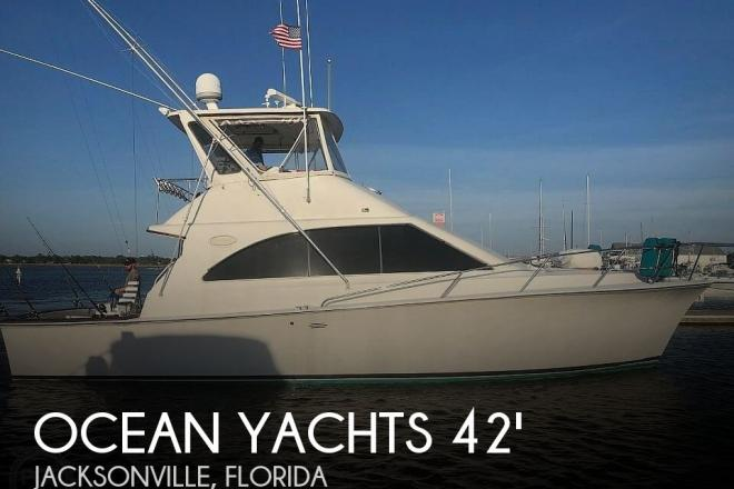 1993 Ocean Yachts 42 Super Sport - For Sale at Jacksonville Beach, FL 32250 - ID 190768