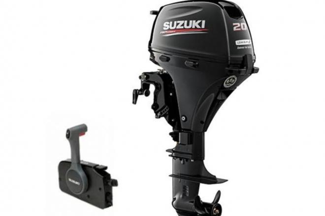 2020 Suzuki DF20ATL2 - For Sale at Blairsville, GA 30512 - ID 154390