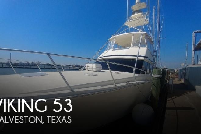 1990 Viking 53 Convertible Sport Fisherman - For Sale at Galveston, TX 77550 - ID 177366
