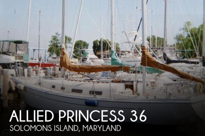 1977 Allied Princess 36 Ketch - For Sale at Solomons, MD 20688 - ID 73128